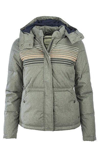 Куртка зимняя женская Roxy Freedom Jckt Charcoal Heather