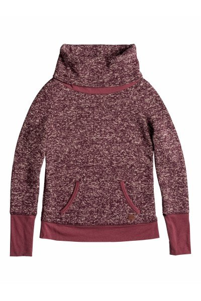 Кенгуру женское Roxy Surfcity Deep Red HeatherФлис и Софтшелл<br>Дополните свой образ эффектным мягким пуловером из высококачественного материала (теплого флиса)!  Модель с длинными рукавами, округлым вырезом горловины. Манжеты рукавов и низ изделия окантованы в рубчик.&amp;nbsp;<br><br>Размер EU: S<br>Размер EU: M<br>Цвет: фиолетовый<br>Тип: Толстовка кенгуру<br>Возраст: Взрослый<br>Пол: Женский