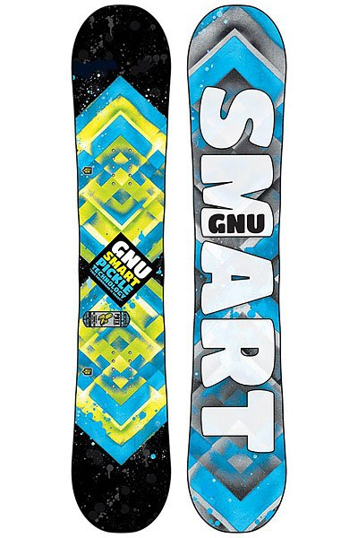 Сноуборд детский GNU Smart Pickle Pbtx Assorted от BOARDRIDERS