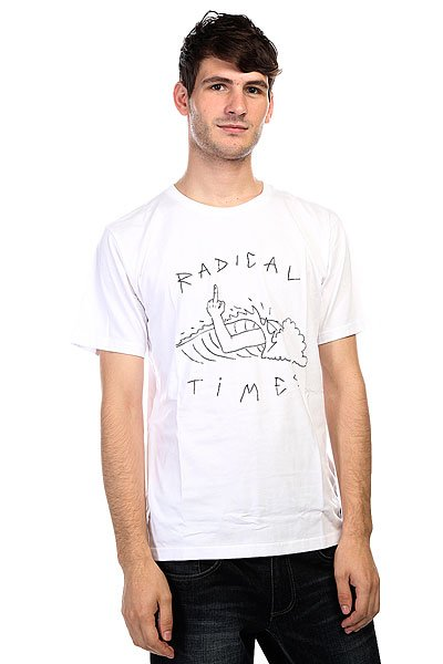 Футболка Quiksilver Radical Tube White от BOARDRIDERS
