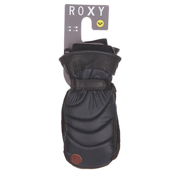 Варежки женские Roxy Victoria Mitt Anthracite от BOARDRIDERS