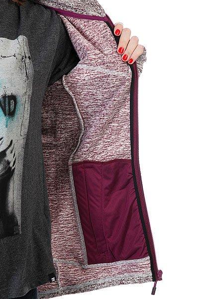Толстовка сноубордическая женская Roxy Crystal Magenta Purple от BOARDRIDERS