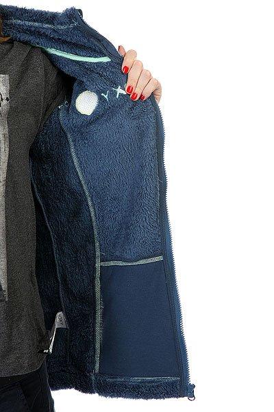 Толстовка женская Roxy Eskimo Full Zip Ensign Blue от BOARDRIDERS