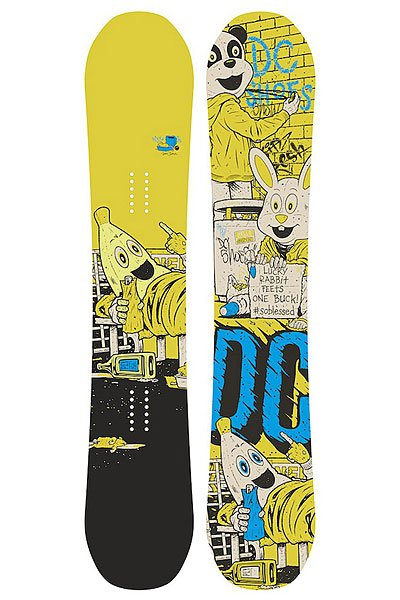 Сноуборд DC Ply M Multi/Yellow 150 от BOARDRIDERS