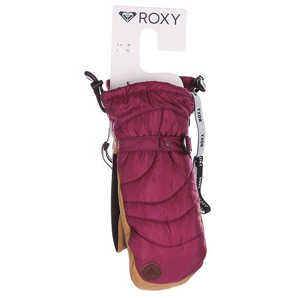 Варежки сноубордические женские Roxy Victoria Mitt Magenta Purple от BOARDRIDERS
