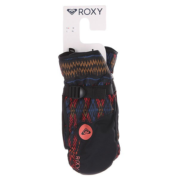 Варежки сноубордические женские Roxy Jetty Mitt Dixie anthracite от BOARDRIDERS