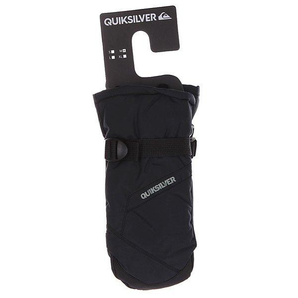 Варежки сноубордические детские Quiksilver Mission Y Mit Black от BOARDRIDERS