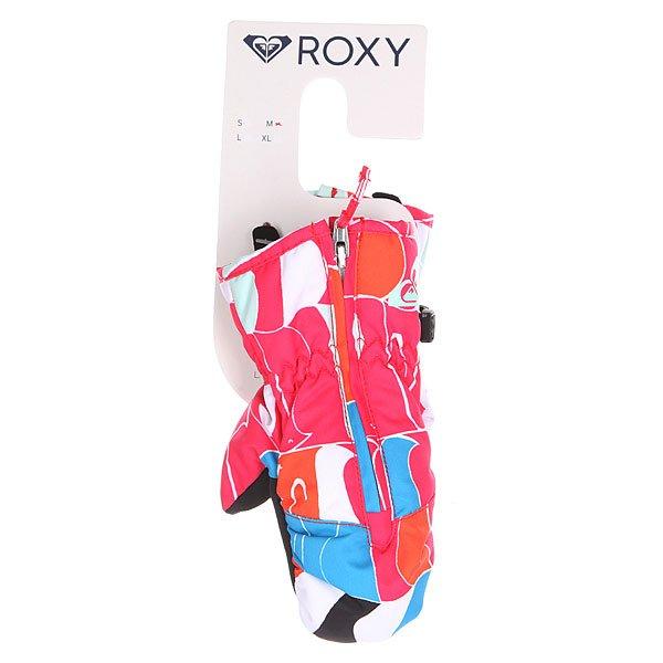 Варежки сноубордические детские Roxy Snows Up Mitt Penguin от BOARDRIDERS