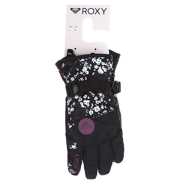 Перчатки сноубордические женские Roxy Jetty Gloves Ditsy Floral от BOARDRIDERS