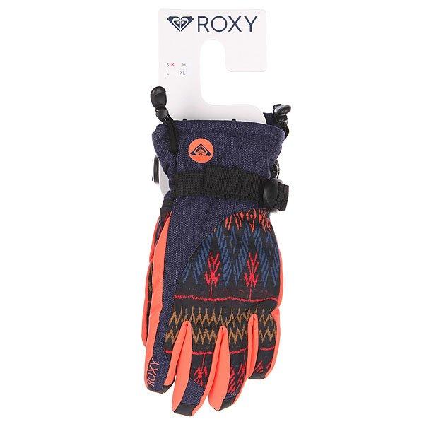Перчатки сноубордические женские Roxy Merry Go Round Dixie Anthracite от BOARDRIDERS