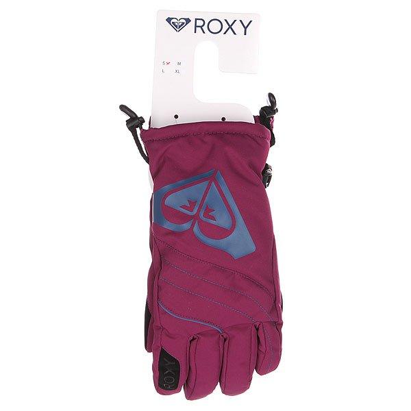 Перчатки сноубордические женские Roxy Popi Gloves Magenta Purple от BOARDRIDERS