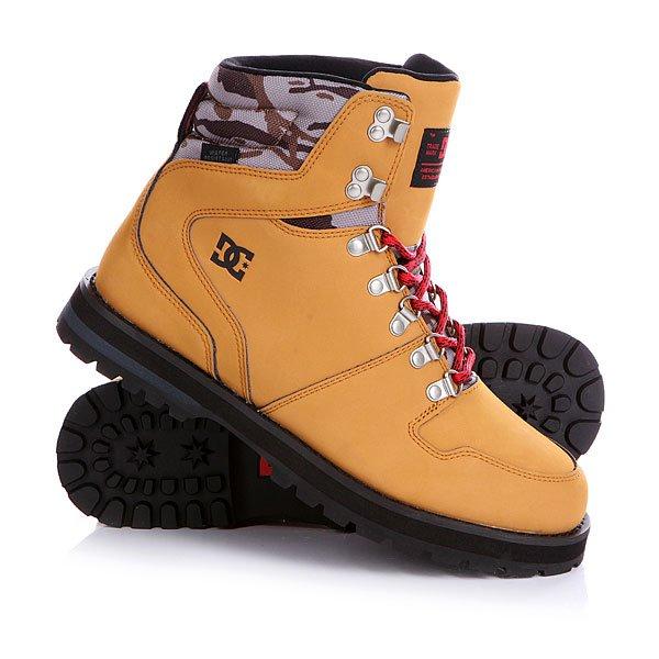Ботинки высокие DC Peary Camel/BlackБотинки<br>DC Peary Camel/Black - мужские демисезонные высокие ботинки.                         Технические характеристики: Усиленный носок и пятка.Язык и воротник от бренда CORDURA. Металлические люверсы и крючки.Подкладка - текстиль. Подошва - резина.<br><br>Размер EU: 42.5<br>Размер US: 9.5<br>Размер CM: 27.5<br>Размер EU: DC man B: 8.5us 41eur 26.75cm<br>Размер EU: 43<br>Размер US: 10<br>Размер CM: 28<br>Размер EU: 44.5<br>Размер US: 11<br>Размер CM: 28.5<br>Цвет: черный,бежевый,серый,зеленый<br>Тип: Ботинки высокие<br>Возраст: Взрослый<br>Пол: Мужской