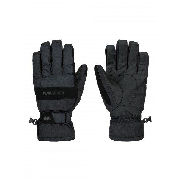 Перчатки сноубордические Quiksilver Hill Glove BlackПерчатки<br>Лучшую защиту обеспечат вам эти перчатки от культового бренда! Модель представлена в оригинальном стиле. Плоские швы, дополнительные вставки приведут в восторг.<br><br>Размер EU: L<br>Размер EU: M<br>Размер EU: S<br>Размер EU: XL<br>Цвет: черный,синий<br>Тип: Перчатки сноубордические<br>Возраст: Взрослый<br>Пол: Мужской