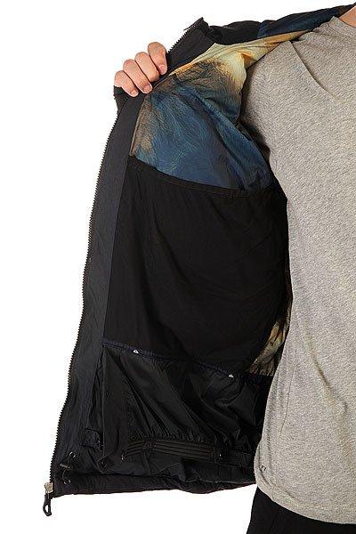 Куртка Quiksilver Tr Pillow Jkt Black от BOARDRIDERS