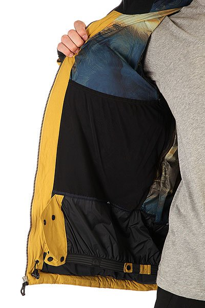 Куртка Quiksilver Tr Pillow Jkt Olive Oil от BOARDRIDERS