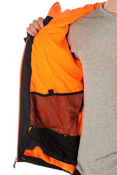Куртка Quiksilver Zone Jkt Black от BOARDRIDERS