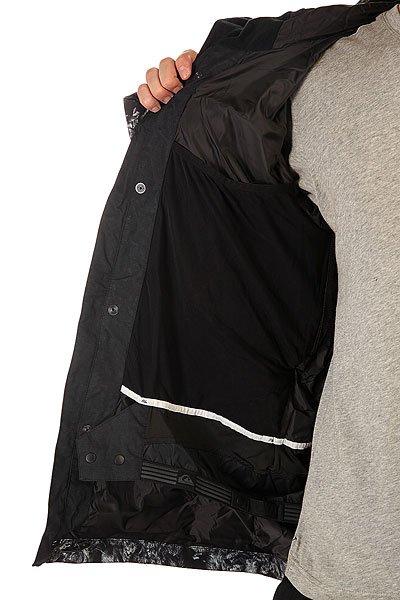 Куртка Quiksilver Sense Jkt Black от BOARDRIDERS