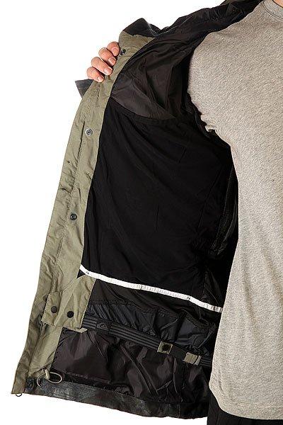 Куртка Quiksilver Sense Jkt Dusty Olive от BOARDRIDERS
