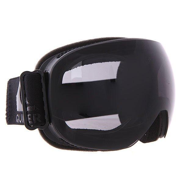 Маска для сноуборда Quiksilver Qs R BlackМаски<br>Легкость и комфорт в течение всего дня с  Quiksilver Qs R Black. Благодаря удобной  оправе с флисовым покрытием  маску приятно носить целый день, а специальная технология антизапотевания Quiksilver Anti-fog обеспечит безопасность Вашим глазам.                                                                                                                                       Технические характеристики: Двойные сферические линзы.Антиударная и устойчивая к царапинам оправа (поликарбонат).Устойчивый к царапинам фильтр на 100% защищает от ультрафиолетового излучения (блокирует вредное UVA, UVB, UVC излучение, а также ультрафиолетовое излучение до 400 NM).Технология антизапотевания Quiksilver Anti-fog. Двухслойное покрытие оправы для дополнительного комфорта(пена,флис). Гибкие боковые клипсы для удобного ношения и фиксации маски.Легкость и комфорт в течение всего дня с  Quiksilver Qs R Black. Благодаря удобной  оправе с флисовым покрытием  маску приятно носить целый день, а специальная технология антизапотевания Quiksilver Anti-fog обеспечит безопасность Вашим глазам.                                                                                                                                       Технические характеристики: Двойные сферические линзы.Антиударная и устойчивая к царапинам оправа (поликарбонат).Устойчивый к царапинам фильтр на 100% защищает от ультрафиолетового излучения (блокирует вредное UVA, UVB, UVC излучение, а также ультрафиолетовое излучение до 400 NM).Технология антизапотевания Quiksilver Anti-fog. Двухслойное покрытие оправы для дополнительного комфорта(пена,флис). Гибкие боковые клипсы для удобного ношения и фиксации маски.<br><br>Размер EU: One Size<br>Цвет: черный<br>Тип: Маска для сноуборда<br>Возраст: Взрослый<br>Пол: Мужской