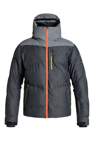 Куртка Quiksilver Ultimate Jacket BlackСноубординг<br>Куртка Quiksilver Ultimate Jacket из коллекции Snow Performance идеально подходит как для покорения вершин, так и для повседневной жизни. Современный утеплитель 3M™ Thinsulate™ FEATHERLESS  обеспечит тепло и комфортное катание в течении всего дня.  Можете быть уверены что снег, ветер и непогода не помешают Вам получить максимум удовольствия от катания.   Технические характеристики: Утеплитель - 3M™ Thinsulate™ FEATHERLESS 300 г.Подкладка - ультралегкая тафта и мелкая сетка.Водонепроницаемая мембрана Dry Flight 15K(15 000 мм/15 000г).Проклеенные швы.Высокий воротник-стойка.Сеточная вентиляция.Фиксированный капюшон.Система крепления штанов к куртке.Защита подбородка от натирания молнией из микрофибры.Врезной нагрудный карман на молнии.Два боковых кармана на молнии.Медиакарман.Карман для скипасса.Карман для маски.Отстегивающаяся противоснежная юбка из синтетической тафты с эластичной вставкой из лайкры.Регулируемые манжеты на липучках.Лайкровые манжеты с отверстием для большого пальца.Подол с утяжкой.Застежка - молния+липучки.Молнии YKK® Aquaguard®.Фасон: стандартный (regular fit).<br><br>Размер EU: XL<br>Размер EU: M<br>Размер EU: L<br>Размер EU: S<br>Цвет: серый<br>Тип: Куртка утепленная<br>Возраст: Взрослый<br>Пол: Мужской