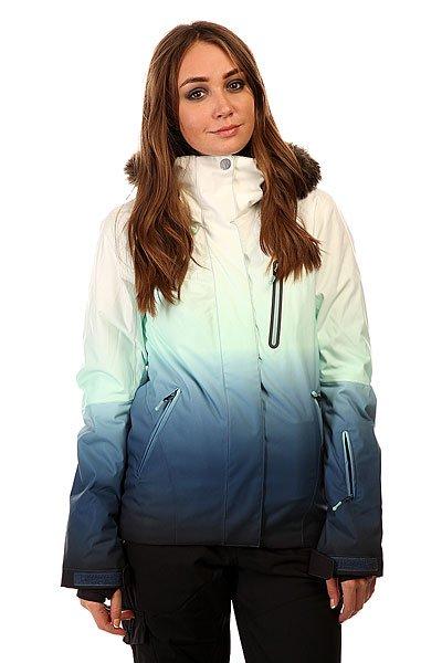 Куртка женская Roxy Jet Ski Prem Jk Gradient Print BIOTHERM от BOARDRIDERS