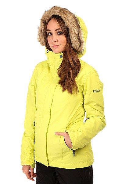 Куртка женская Roxy Jet Ski Sold Jk Limeade от BOARDRIDERS