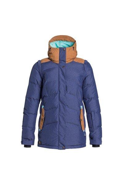Куртка женская DC Liberty Jkt Patriot BlueСноубординг<br>Женская сноубордическая куртка с новым вдохновляющим дизайном. У нее есть абсолютно все, чтобы сохранять Ваше тепло и держать Вас в комфорте в любой ситуации.Характеристики:Подкладка из тафты. Утеплитель – 300 гр. Standard Puffy Down Fit - удачный крой, который позволяет выглядеть хорошо даже вне склонов.Снегозащитная юбка. Карман для медиа-устройств. Удобные карманы для рук. Фиксированный капюшон. Система вентиляции. Манжеты из лайкры. Сетчатый карман для очков/маски.<br><br>Размер EU: S<br>Размер EU: XS<br>Размер EU: M<br>Размер EU: L<br>Размер EU: XL<br>Цвет: синий,коричневый<br>Тип: Куртка утепленная<br>Возраст: Взрослый<br>Пол: Женский