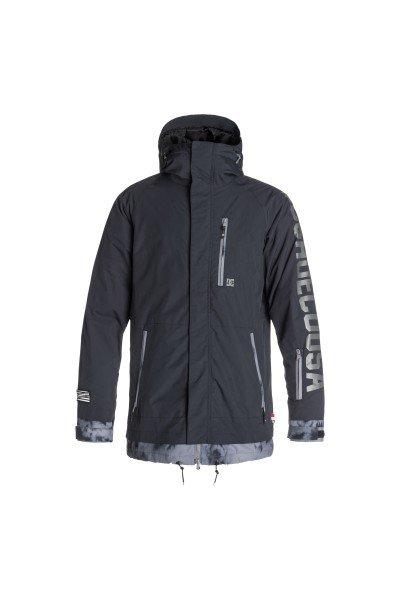 Куртка DC Ripley AnthraciteСноубординг<br>Куртка DC Ripley готова стать Вашим главным помощником этой зимой. Влагостойкая ткань Exotex 10K позволит дольше оставаться сухим, а утеплитель сохранит Вас в тепле даже в самые холодные дни.   Технические характеристики: Утеплитель - 3M™ Thinsulate™.Подкладка - тафта.Водонепроницаемая мембрана Exotex 10K (10 000 мм / 10 000 г).Проклеенные швы.Фиксированный капюшон  с тремя способами регулировки.Высокий воротник стойка.Вентиляционные отверстия на молнии.Нагрудный карман на молнии.Два боковых кармана на молнии.Фиксированная снежная юбка.Внутренний сетчатый карман на липучке.Карман для ски-пасса на молнии.Регулируемые манжеты на липучках.Лайкровые манжеты с отверстием для большого пальца.Застежка - молния.Фасон: стандартный (regular fit).<br><br>Размер EU: S<br>Размер EU: XL<br>Размер EU: M<br>Размер EU: L<br>Размер EU: XS<br>Цвет: серый<br>Тип: Куртка утепленная<br>Возраст: Взрослый<br>Пол: Мужской