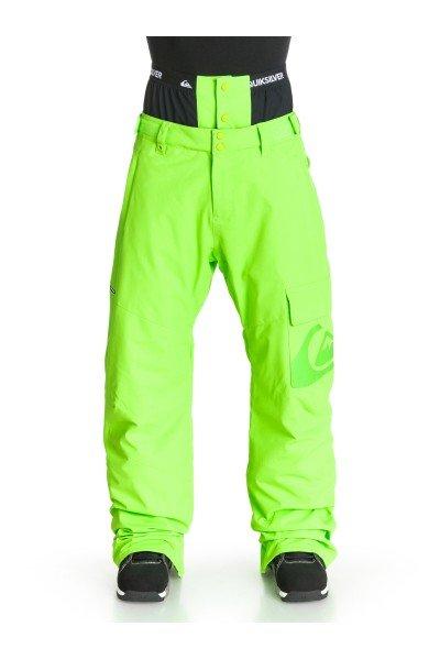 Штаны сноубордические Quiksilver County Ins Green Gecko