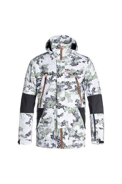 Куртка DC Command Dpm Jkt Dpm CamoСноубординг<br>Технологичная функциональная куртка, выполненная из влагостойкой ткани Exotex 20K с сетчатой подкладкой, сохраняющей тепло. Множество карманов как внутренних, так и внешних, удобная регулировка капюшона и высокий ворот, а также съемная снегозащитная юбка и манжеты из лайкры делают эту куртку пригодной не только для катания по трассам в хорошую погоду, но и отличным вариантом для бэккантри, где очень важна отличная защита от попадания снега внутрь одежды и свободный крой, дающий волю движениям.Характеристики:Влагостойкая тканьExotex 20K.Подкладка: тафта и сетчатый материал на спине и на груди для сохранения тепла. Прямой крой. Возможность убрать капюшон в воротник. Полностью проклеенные швы. Сетчатые карманы для вентиляции. Съемная снегозащитная юбка.Капюшон с 3 вариантами регулировки. Небольшой логотип DC на груди.Внутренние манжеты из лайкры. Регулируемые манжеты на липучке. Клапан на молнии для защиты от ветра. Нагрудные вертикальные карманы на молнии.Карман на молнии на рукаве для ски-пасса. Два кармана для рук на молнии. Дополнительные контрастные вставки на локтях. Крепление капюшона к спине. Удлиненная спинка.Внутренний сетчатый карман. Внутренний карман на липучке. Медиа-карман.КоллекцияResearch Mountain.<br><br>Размер EU: XL<br>Цвет: зеленый,белый,черный<br>Тип: Куртка утепленная<br>Возраст: Взрослый<br>Пол: Мужской
