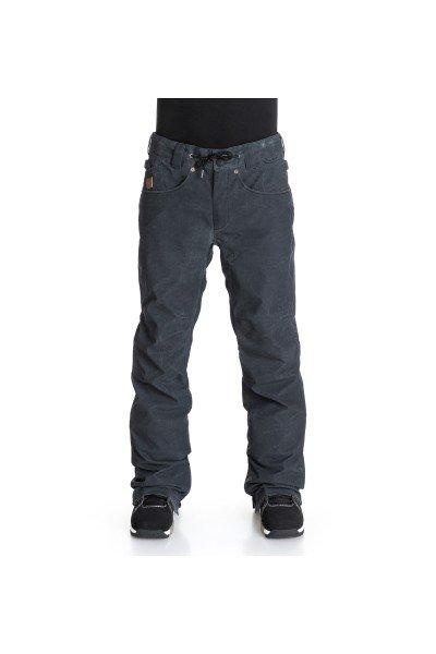 Штаны сноубордические DC Relay Pt AnthraciteШтаны<br>Мужские сноубордические штаны DC Relay похожи на классические брюки, однако они надежно защищают от снега и ветра, ведь Relay сделаны из полиэстера, водостойкой дышащей мембраны Exotex 10K и тёплой подкладки из тафты с сетчатой тканью и с применением утеплителя.Характеристики:Влагостойкая ткань Exotex 10K. Утеплитель 80 гр. Подкладка - тафта. Прямой крой.Проклеенные в стратегических местах швы. Сетчатые карманы с внутренней стороны бедра для вентиляции. Снегозащитные гетры из тафты. Встроенная регулировка талии. Застежка на пуговицах. Ширинка на молнии. Крючок на штанине для пристегивания к ботинку. Петли для крепления штанов к куртке. Два вместительных боковых кармана с клапаном. Система укорачивания штанины находится в боковых карманах. Карманы для рук на молнии. Эргономичный крой коленей. Два задних кармана на липучке. Нашивка с логотипом на боковом кармане. Коллекция: Research Mountain.<br><br>Размер EU: S<br>Цвет: черный<br>Тип: Штаны сноубордические<br>Возраст: Взрослый<br>Пол: Мужской