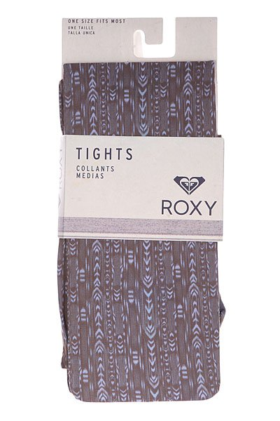 Колготки женские Roxy Tribal Print Tight Black от BOARDRIDERS