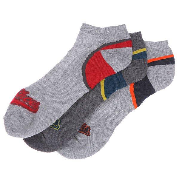 Носки низкие DC Low Cut Two Ton Heel Design Gray HeatherНижнее белье<br><br><br>Размер EU: 40-45<br>Цвет: серый,бордовый,синий<br>Тип: Комплект носков<br>Возраст: Взрослый<br>Пол: Мужской