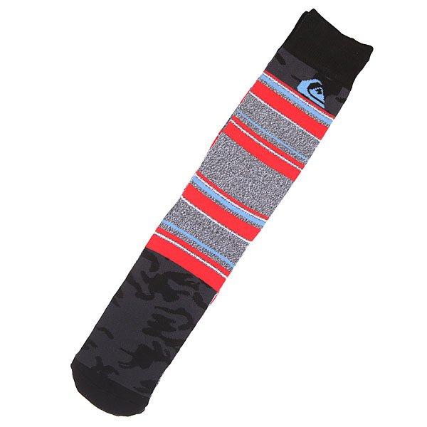 Носки высокие Quiksilver Frontboarder Knitted Crew Dark Gray