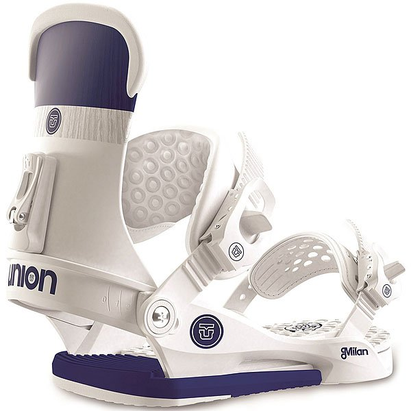 Крепления для сноуборда Union binding company Milan White/Purple