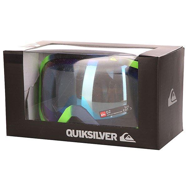 Маска для сноуборда Quiksilver Q2 Lime от BOARDRIDERS