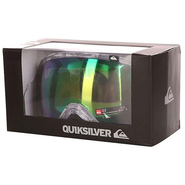 Маска для сноуборда Quiksilver Q2 Grey/Black от BOARDRIDERS