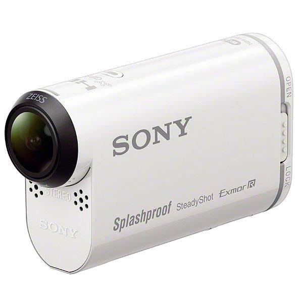 Экшн камера Sony Action Cam Hdr-AS200v WhiteЭкшн камеры<br>Рассекаете ли вы на доске для серфинга, покоряете горные вершины или прокладываете новые маршруты путешествий, новая камера Action Cam HDR-AS200V поможет вам запечатлеть каждую секунду вашего приключения. Благодаря непревзойденному качеству изображения FullHD вы будете переживать каждый шаг своих приключений снова и снова, а с помощью удобной функции Highlight Movie Maker вы сможете превратить отснятый материал в захватывающий фильм. Характеристики:Улучшенный формат FullHD для четких изображений и насыщенных цветов. Сверхширокоугольный объектив ZEISS Tessar® с углом 170° для панорамных снимков. Эффективность стабилизации изображения SteadyShot в трираза выше в сравнении с текущими моделями.Подавление шума ветра. Матрица Exmor R™ CMOS для получения изображений с низким уровнем шума в условиях низкой освещенности. Водостойкость до 5м с входящим в комплект футляром SPK-AS2. Выход micro-HDMI. Композитный видеовыход. Разъем USB multi/micro. Слот для карты памяти. Стереофонический мини-разъем.<br><br>Размер EU: One Size<br>Цвет: белый<br>Тип: Экшн камера