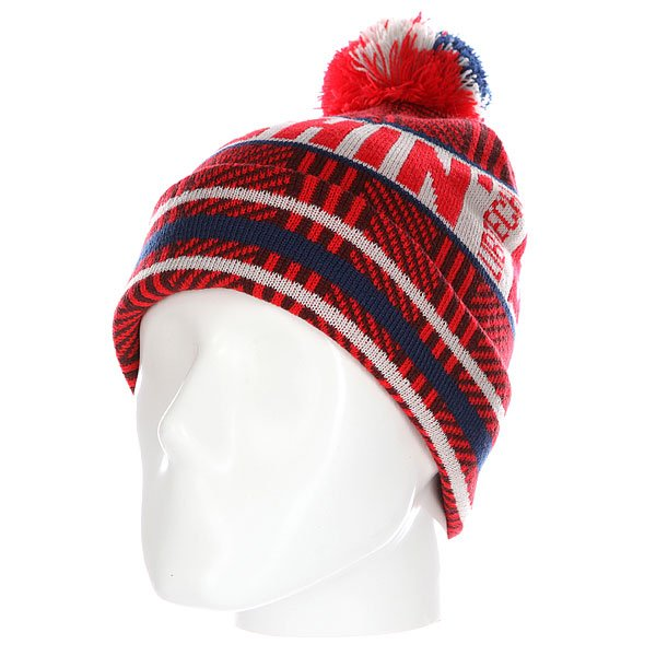 Шапка Lib Tech Chin Beanie Red