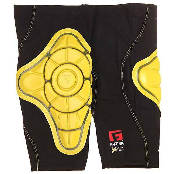 Защита на колени G-Form Pro-X Knee Pads Black/YellowЗащита<br><br><br>Размер EU: M<br>Размер EU: L<br>Цвет: черный,желтый<br>Тип: Защита на колени<br>Возраст: Взрослый<br>Пол: Мужской