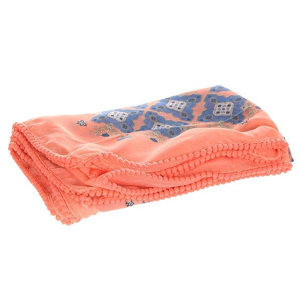 Платок женский Roxy Elysa Agadir Border ComboШарфы<br>Мягкий, приятный женский платок с ярким орнаментом от ROXY.Технические характеристики: Квадратная форма.Цветочный орнамент.Декоративная отделка миниатюрными помпонами.Универсальный дизайн, который легко сочетается с любой одеждой.<br><br>Размер EU: One Size<br>Цвет: мультиколор<br>Тип: Платок<br>Возраст: Взрослый<br>Пол: Женский