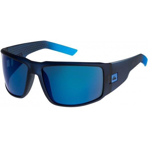 Очки Quiksilver Slab Navy/Plz BlueСолнцезащитные очки<br>Очки в спортивной оправе идеально адаптируются к форме лица, благодаря чему очки не теряют устойчивости даже при сильных движениях.Технические характеристики: Оправа из сплава Rilsan Clear G830 Rnew.Прочные линзы из поликарбоната.100% защита от UVA, UVB и uvc лучей.Линза 3 категории для превосходной фильтрации в очень солнечную погоду.Сделано в Италии.<br><br>Размер EU: One Size<br>Цвет: черный<br>Тип: Очки<br>Возраст: Взрослый<br>Пол: Мужской