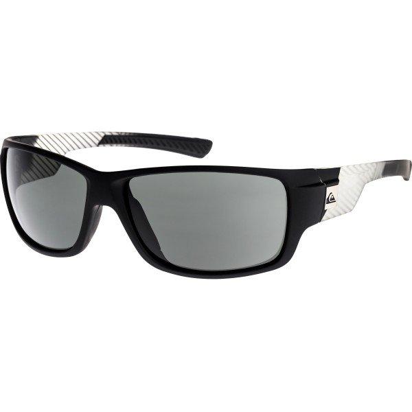 Очки Quiksilver Damon Crystal BlackСолнцезащитные очки<br>Стильные очки Quiksilver – то, что надо для стильных модников.Характеристики:Оправа из поликарбоната.Оптически корректные поликарбонатные линзы.8-мислойное покрытие против царапин.Регулируемые заушины. Регулируемые носовые упоры.3 категория защиты линз от очень ярких солнечных лучей. 100% защиты от УФ-лучей (UV A, UVB). Мягкая защитная сумочка в комплекте.<br><br>Размер EU: One Size<br>Цвет: черный,белый<br>Тип: Очки<br>Возраст: Взрослый<br>Пол: Мужской
