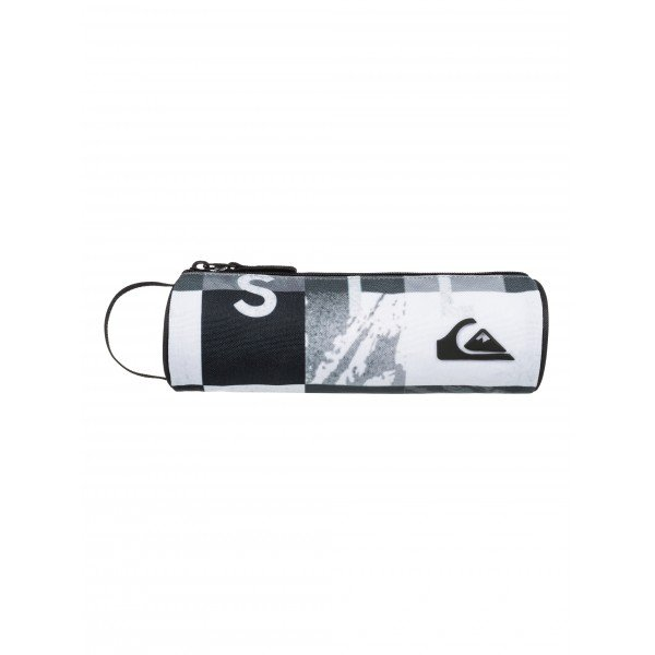 ����� Quiksilver Pencil Print Check Remix Black