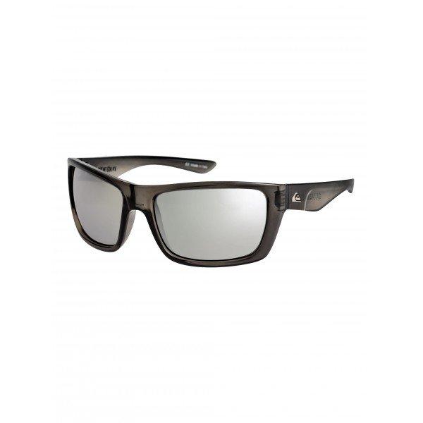 Очки Quiksilver Hideout Crystal Smoke/FlashСолнцезащитные очки<br>Стильные очки Quiksilver Hideout – то, что надо для стильных модников.Характеристики:Оправа из гриламида.Оптически корректные поликарбонатные линзы.8-мислойное покрытие против царапин.3 категория защиты линз от очень ярких солнечных лучей. 100% защиты от УФ-лучей (UV A, UVB). Плотный защитный кейс на молнии.Сделано в Италии.<br><br>Размер EU: One Size<br>Цвет: черный<br>Тип: Очки<br>Возраст: Взрослый<br>Пол: Мужской