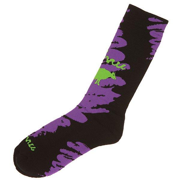 Носки средние GNU Advanced Geo Sock PurpleНижнее белье<br><br><br>Размер EU: L<br>Цвет: черный,фиолетовый<br>Тип: Носки средние<br>Возраст: Взрослый<br>Пол: Мужской
