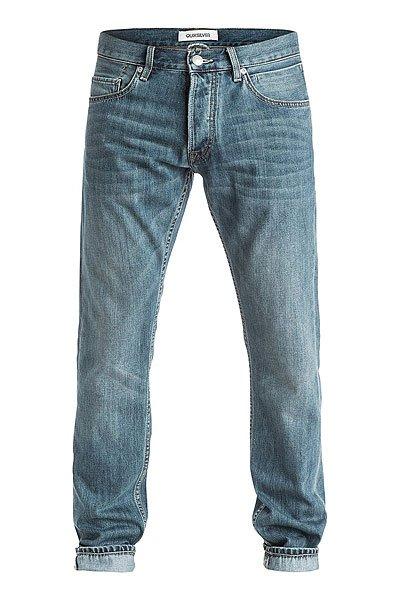Джинсы прямые Quiksilver Revolver Best Pant Super UsedДжинсы<br>Прямые джинсы – отличное решение для самых стильных!Характеристики:5 карманов. Застегиваются на молнию.Эластичный хлопок. Плотность ткани – 319 г/кв. м. Базовая смягчающая обработка и 3D-имитация складок.<br><br>Размер EU: W28<br>Цвет: синий<br>Тип: Джинсы прямые<br>Возраст: Взрослый<br>Пол: Мужской
