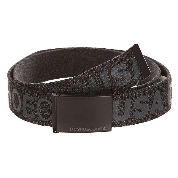 Ремень DC Chinook Tx Black HeatherРемни<br>Мужской ремень Chinook от DC Shoes. Характеристики:Разноцветные меланжевые стрепы. Стрепы с сублимированным принтом. Контрастные металлические наконечник и пряжка. Контрастные металлические наконечник и пряжка.<br><br>Размер EU: One Size<br>Цвет: ,черный,серый<br>Тип: Ремень<br>Возраст: Взрослый<br>Пол: Мужской