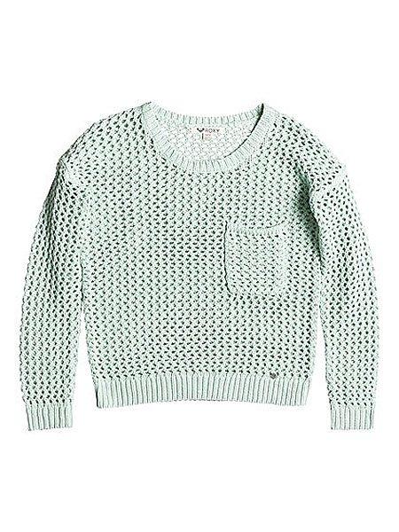 Свитер женский Roxy Turnabout J Swtr Harbor GrayСвитеры и Кардиганы<br>Модный женский свитер для прохладных деньков.Характеристики:Свободный крой. Круглый вырез.Длинные рукава. Спущенное плечо. Карман на груди. Эластичные манжеты и подол.<br><br>Размер EU: L<br>Размер EU: M<br>Размер EU: S<br>Цвет: голубой<br>Тип: Свитер<br>Возраст: Взрослый<br>Пол: Женский