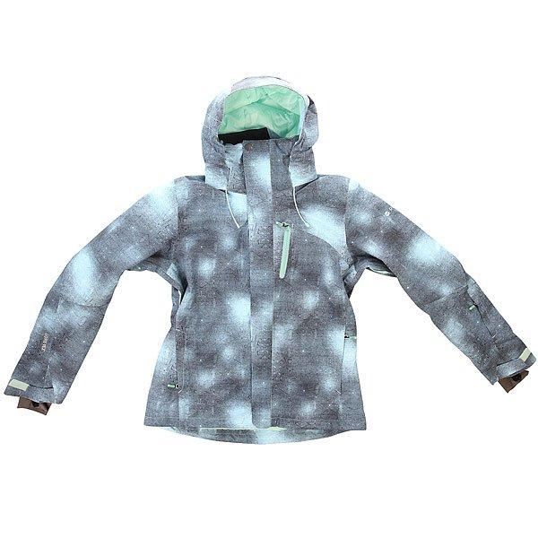 Куртка женская Roxy Wilder Pr Jk J Snjt MexicaneesКуртки<br>Женская сноубордическая куртка с мембраной GORE TEX и технологией Biotherm X ROXY ENJOY &amp; CARE для защиты кожи от мороза.Технические характеристики: Совместная технология Biotherm X ROXY ENJOY &amp; CARE - воротник куртки пропитан специальным составом, который защищает кожу лица и шеи от холода.Водонепроницаемая мембрана GORE TEX.Утеплитель - 3M™ Thinsulate™ Type G.Подкладка - ультра легкая тафта с тиснением.Регулируемый капюшон.Высокий воротник-стойка.Нагрудный медиа карман на молнии.Карманы для рук на молнии.Манжета на липучке.Карман для ски-пасса.Карман для маски.Сеточная вентиляция.Эластичная снежная юбка.Система крепления куртки к штанам.Подол с регулировкой.Застежка - молния и липучки.Водонепроницаемые молнии ЕКК®.Коллекция White Wave.<br><br>Размер EU: XL<br>Цвет: голубой,серый<br>Тип: Куртка утепленная<br>Возраст: Взрослый<br>Пол: Женский